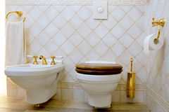 Toilet Royalty Free Stock Photography