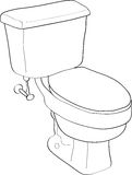 Toilet Royalty Free Stock Photo