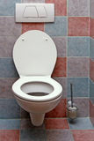 Toilet. Room with ceramic clean and white toilet Royalty Free Stock Photos