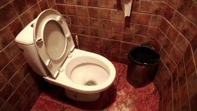 Toilet stock video