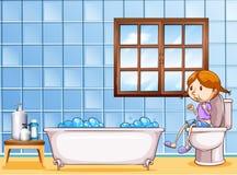 Toilet stock illustratie
