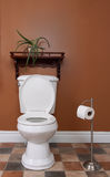 Toilet royalty-vrije stock afbeeldingen