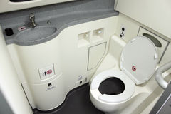 Toilet Aboard Stock Images