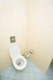 Toilet in the bathroom Stock Image