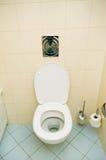 Toilet in the bathroom Royalty Free Stock Photos