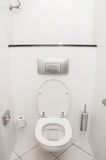 Toilet in the bathroom Royalty Free Stock Image