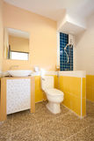 Toilet and bathroom Royalty Free Stock Images