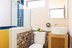 Toilet and bathroom Stock Photography