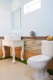 Toilet and bathroom Stock Photo