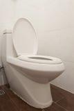 Toilet in the bathroom Stock Photo