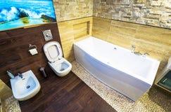 Toilet and bidet Stock Photos