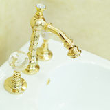 Toilet bidet faucet - bathroom furniture Stock Images