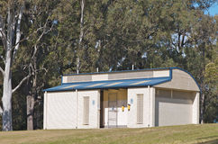 Toilet block Royalty Free Stock Images