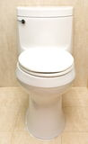 Toilet bowl. A toilet bowl in washroom Royalty Free Stock Photo
