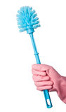 Toilet bowl brush Stock Images