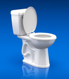 Toilet bowl Royalty Free Stock Image