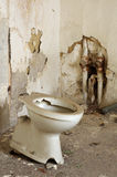 Toilet bowl in public old interior 4 Royalty Free Stock Photography