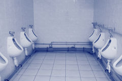 Toilet bowls Royalty Free Stock Photos