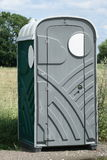 Toilet cabin Stock Photo