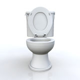 Toilet and cistern Royalty Free Stock Photo
