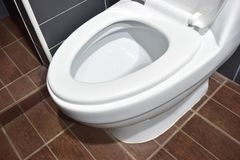 Toilet. Cleaning critical to the health Royalty Free Stock Photo