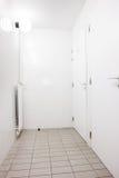 Toilet corridor Stock Images