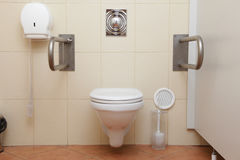 Toilet for disabled people Royalty Free Stock Images