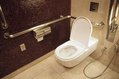Toilet for disables Royalty Free Stock Photo