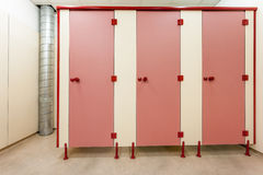 Toilet doors Stock Photos