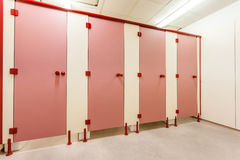 Toilet doors Royalty Free Stock Images