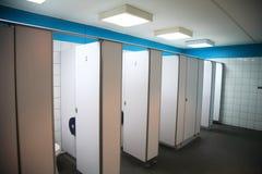 Toilet en sanitaire waren Stock Foto