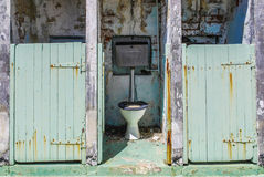 Toilet in Fremantle Prison Royalty Free Stock Images