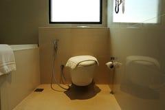 Toilet in home Stock Photo