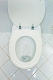 Toilet in a household Stock Photography