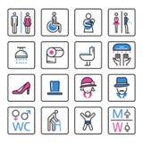 Toilet Icon- vector Royalty Free Stock Photo