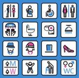 Toilet Icon- vector Stock Image
