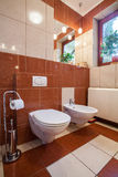 Toilet interior Royalty Free Stock Images