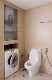 Toilet interior Royalty Free Stock Photos