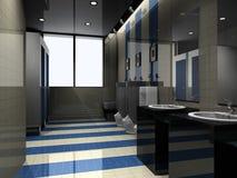 Toilet interior Stock Image