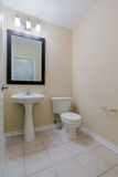 Toilet Interior Design Royalty Free Stock Photography