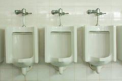 Toilet men Stock Photography
