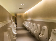 Toilet Men`s bathroom and Public toilet royalty free stock photo
