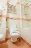 Toilet in modern bathroom Stock Image