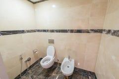 The toilet of modern interior design Stock Photo