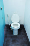 Toilet at office Stock Image