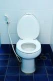 Toilet at office Stock Photos