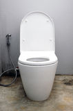 Toilet at office Royalty Free Stock Photos