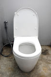Toilet at office Royalty Free Stock Photo
