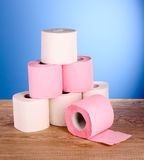 Toilet pape Royalty Free Stock Photos