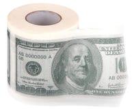 Toilet paper. Stock Image